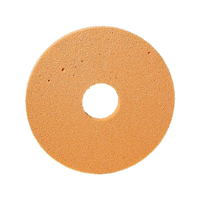 4 Inch x 1/4 Inch Polpur Lapi-T Straight Edge Orange Wheel