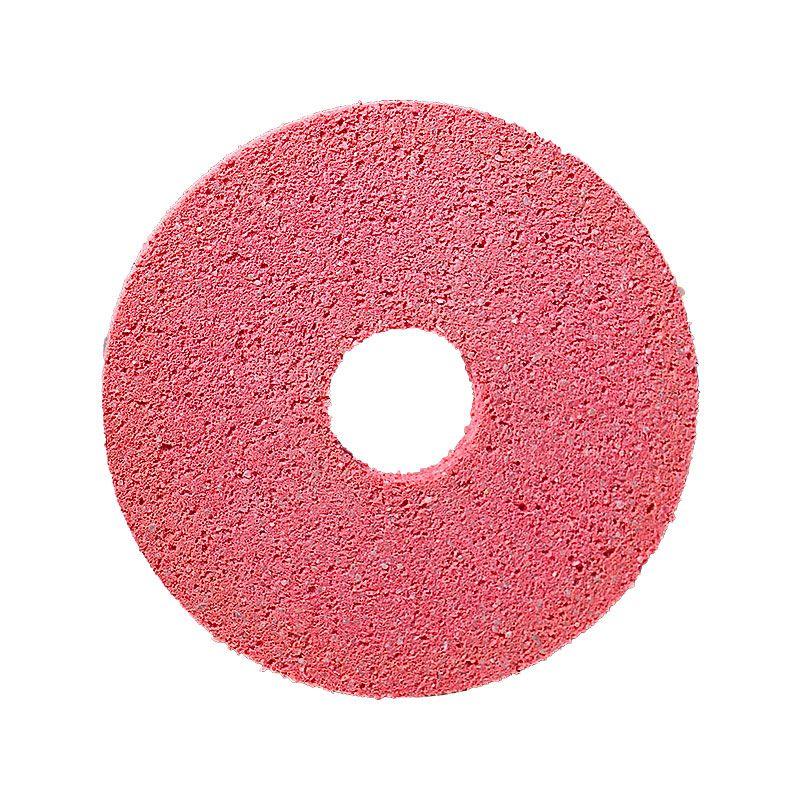 4 Inch x 1/4 Inch Polpur Lapi-T Straight Edge Pink Wheel