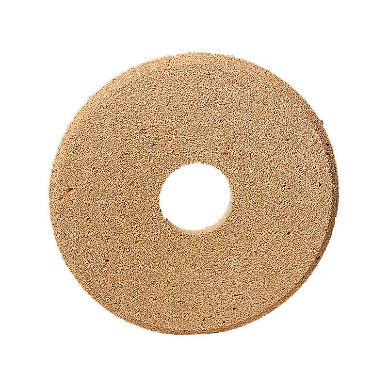 4 Inch x 1/4 Inch Polpur Lapi-T Brown V-Wheel