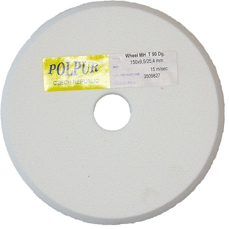 6 Inch x 3/8 Inch Polpur Lapi-T MH V-Wheel