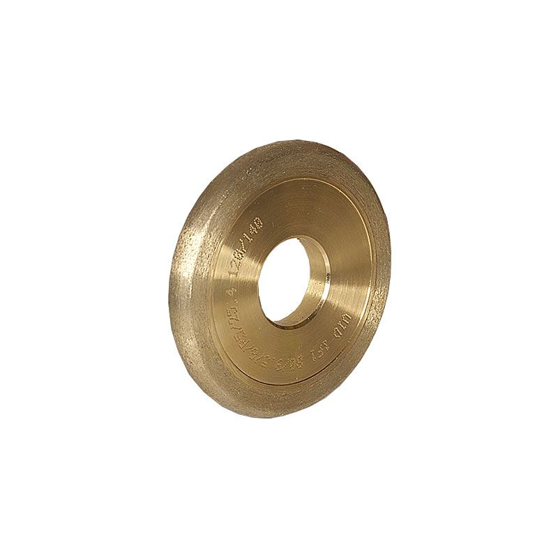 3 Inch x 3/8 Inch Full Circle (Olive) 120 Grit Sintered Diamond Wheel