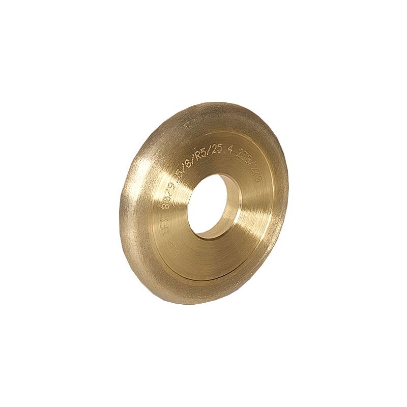 3 Inch x 3/8 Inch Full Circle (Olive) 230 Grit Sintered Diamond Wheel