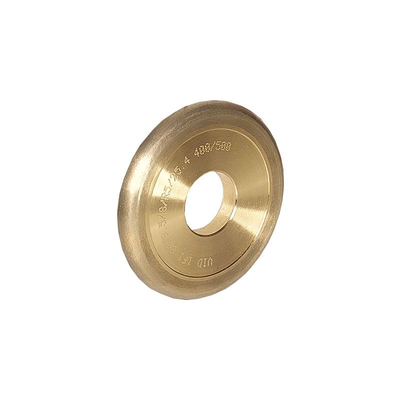 3 Inch x 3/8 Inch Full Circle (Olive) 400 Grit Sintered Diamond Wheel