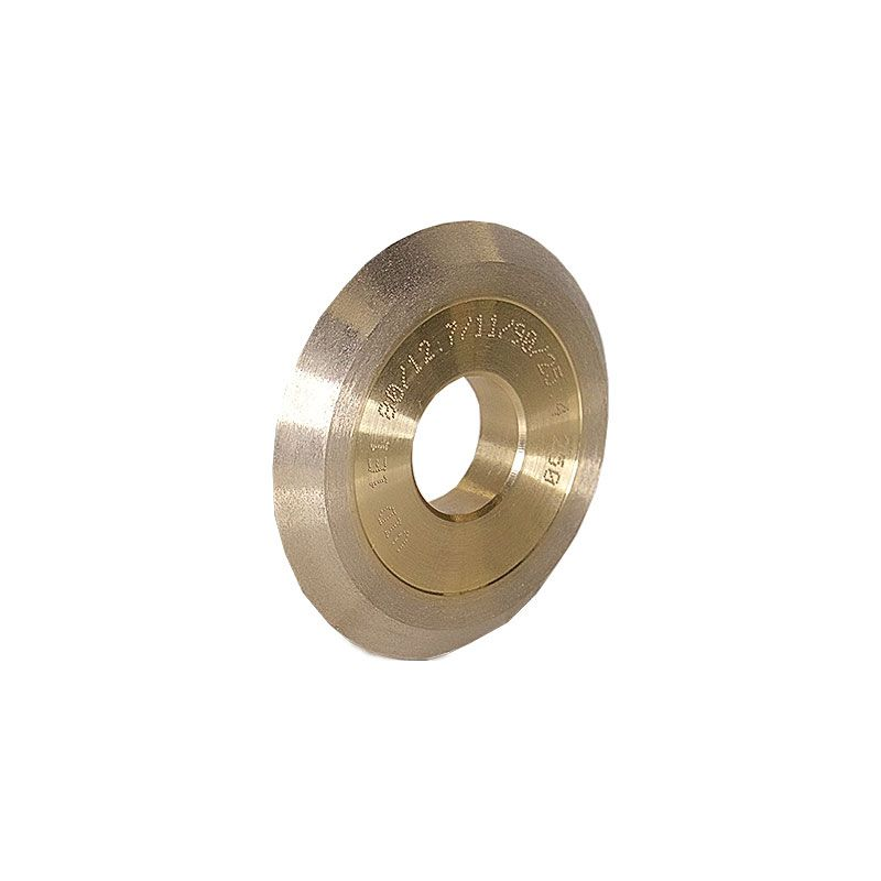 3 Inch x 1/2 Inch V Groove (Miter) 90 Degree Wheel 250 Grit