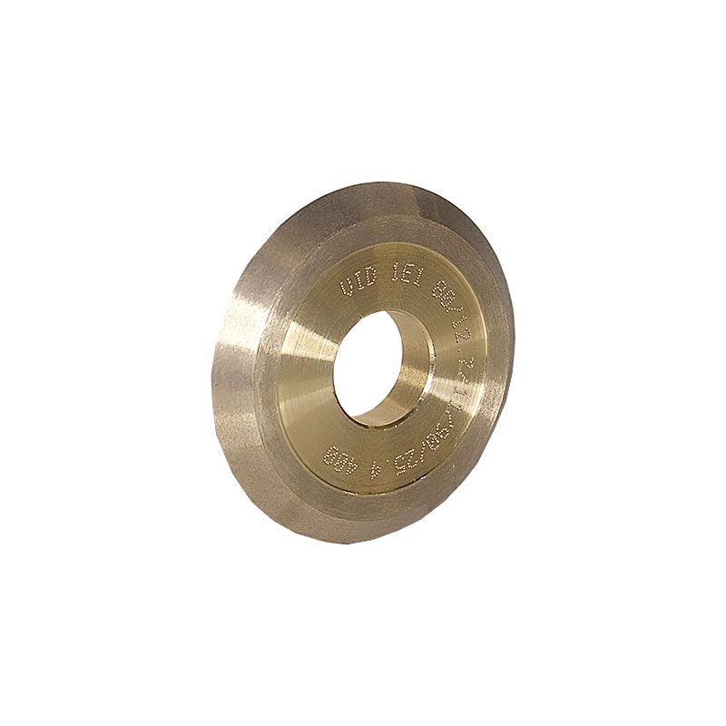 3 Inch x 1/2 Inch V Groove (Miter) 90 Degree Wheel 400 Grit
