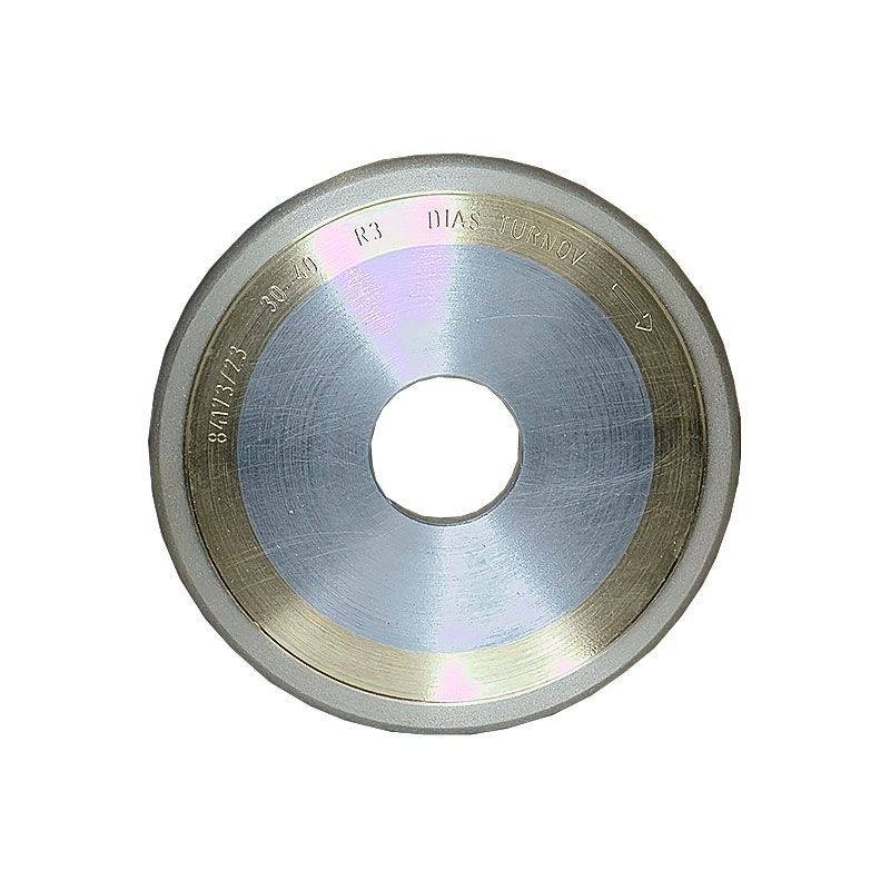 4 Inch x 1/4 Inch 400 Grit Sintered Diamond Full Circle Wheel