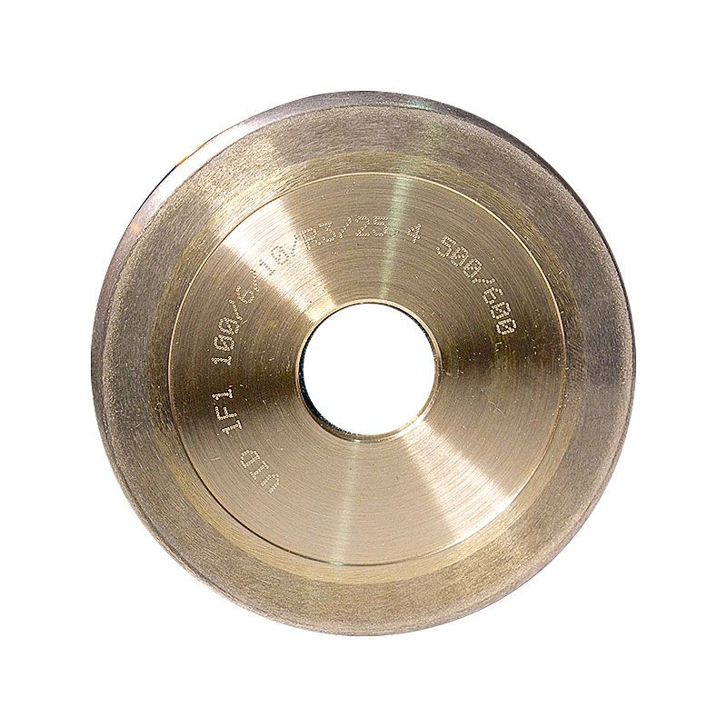 4 Inch x 1/4 Inch 500 Grit Sintered Diamond Full Circle Wheel