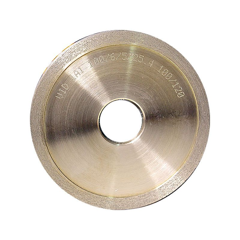 4 Inch x 1/4 Inch 100 Grit Sintered Diamond Straight Edge Wheel