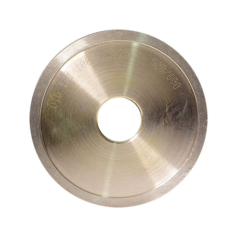 4 Inch x 1/4 Inch 500 Grit Sintered Diamond Straight Edge Wheel