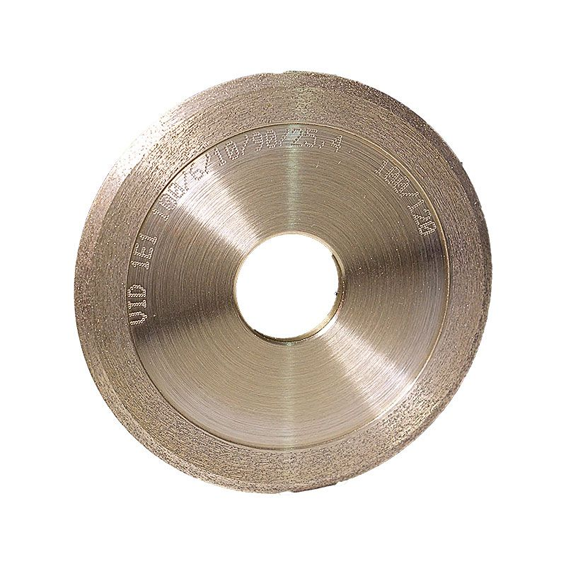 4 Inch x 1/4 Inch 100 Grit Sintered Diamond V-Wheel
