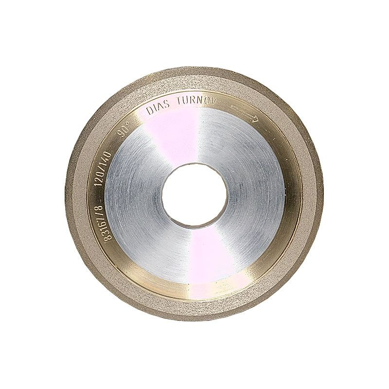 4 Inch x 1/4 Inch 120 Grit Sintered Diamond V-Wheel