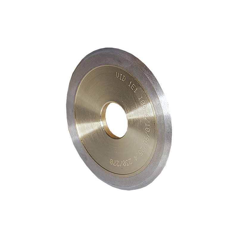 4 Inch x 1/4 Inch 230 Grit Sintered Diamond V-Wheel