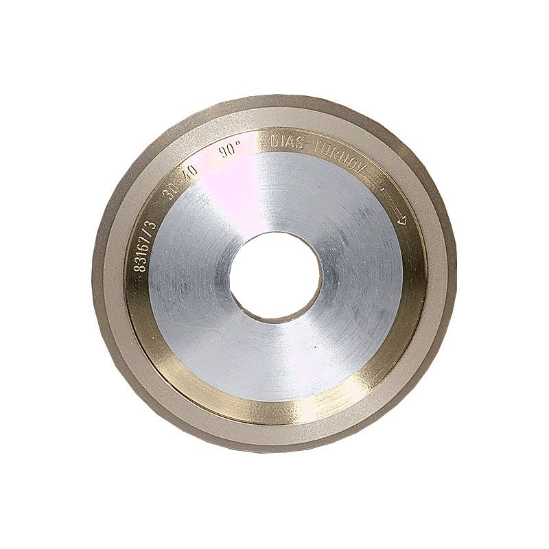 4 Inch x 1/4 Inch 400 Grit Sintered Diamond V-Wheel