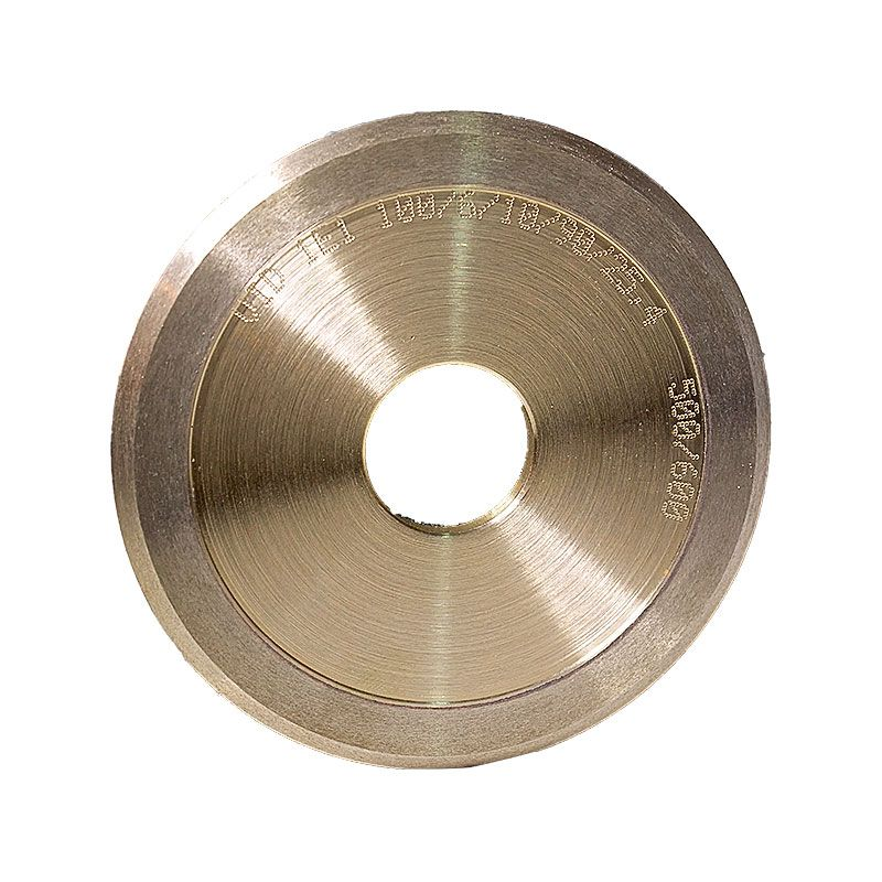 4 Inch x 1/4 Inch 500 Grit Sintered Diamond V-Wheel