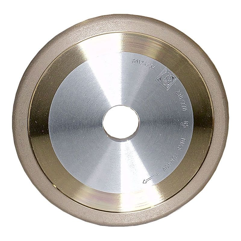 6 Inch x 3/8 Inch 230 Grit Sintered Diamond Full Circle Wheel