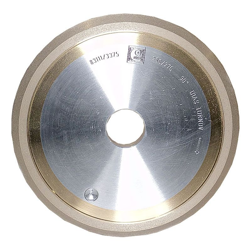 6 Inch x 3/8 Inch 230 Grit Sintered Diamond V-Wheel