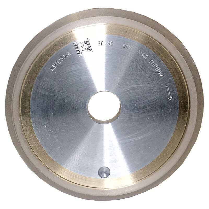 6 Inch x 3/8 Inch 400 Grit Sintered Diamond V-Wheel