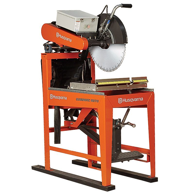 Husqvarna 5HP 230V/50Hz Guardmatic 20 Inch Wet Saw