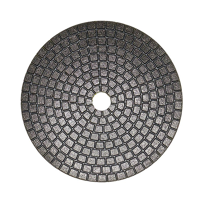 4 Inch Velcro Backed 150 Grit Ceramica Diamond Pad