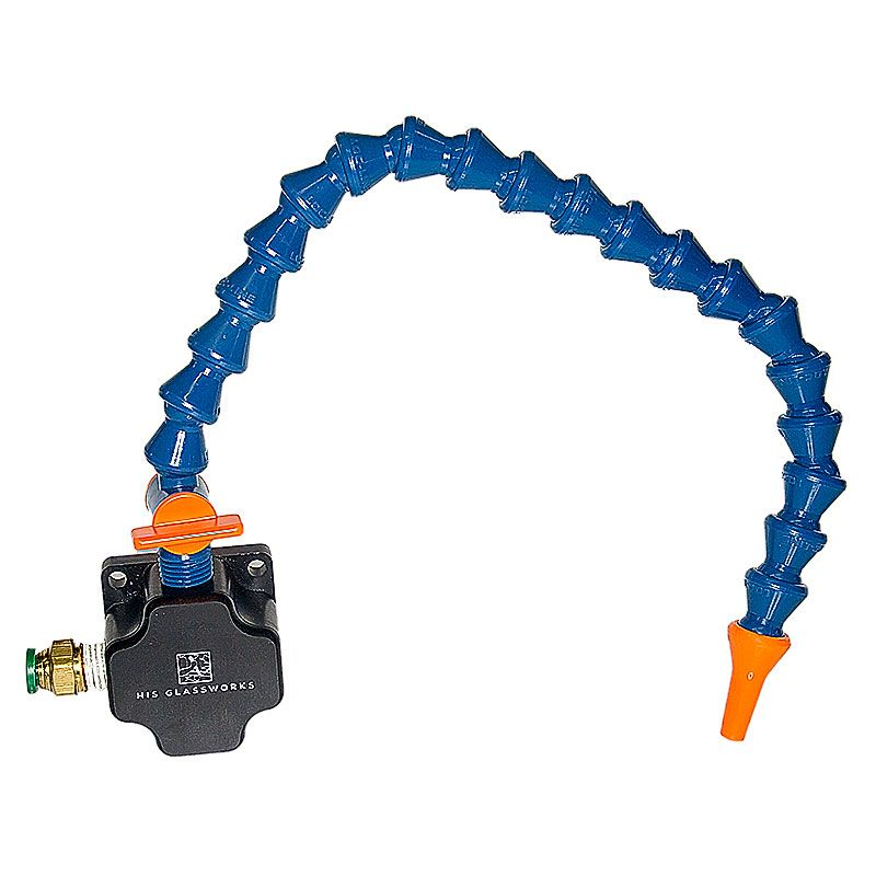 Push-to-Connect Water Manifold with One Foot Loc-Line Adjustable Water Line