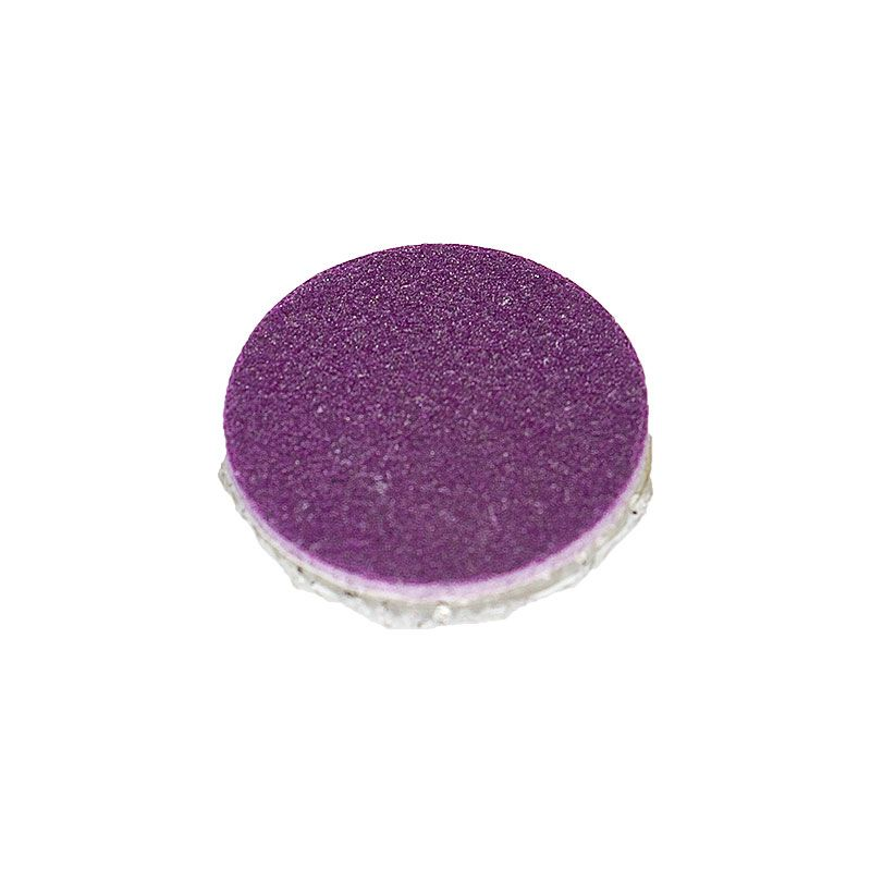 1 Inch 220 Grit Resin Diamond Smoothing Disk with Dual Lock Backing