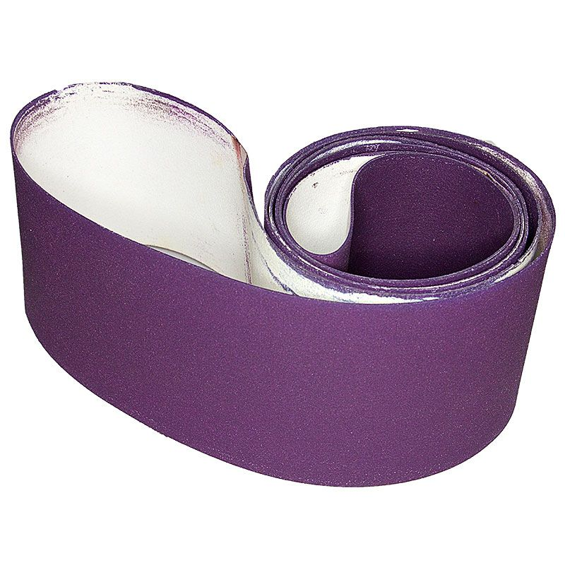 4 Inch x 106 Inch 220 Grit Resin Diamond Smoothing Belt
