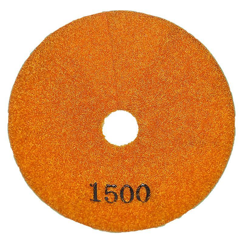 4 Inch 1500 Grit Convex Diamond Pad