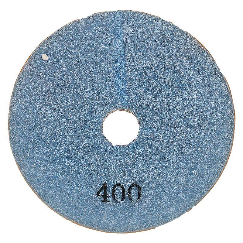 4 Inch 400 Grit Convex Diamond Pad