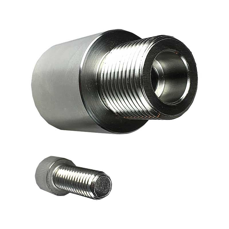 Cone and Dome Adaptor for JIM lathe with Straight Shaft