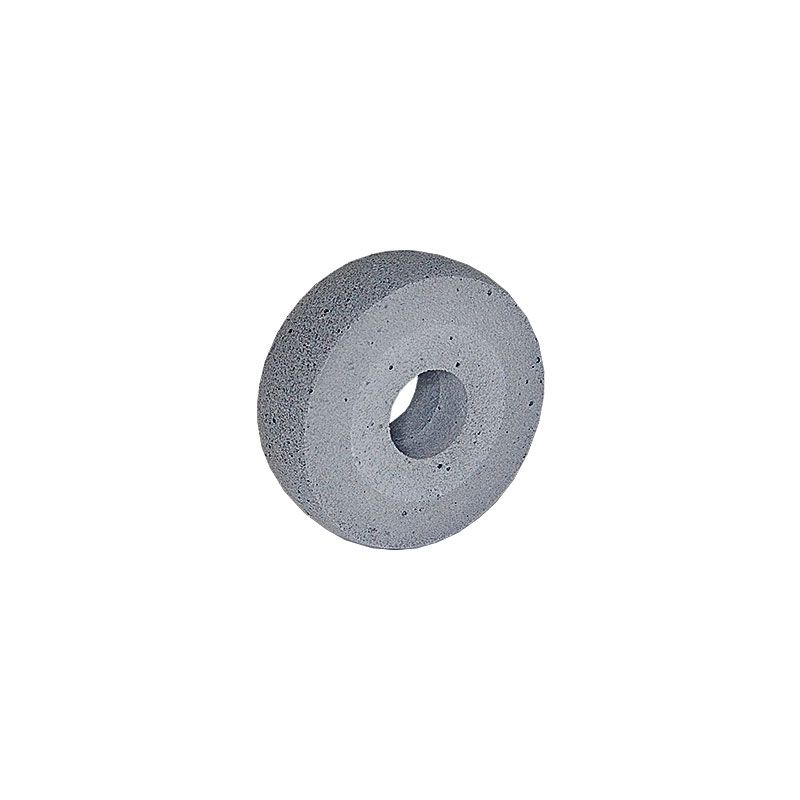 3 Inch x 1 inch Radiused Edge Polpur Black Wheel
