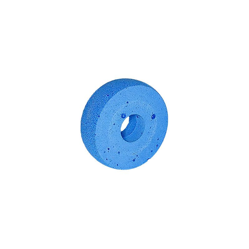 3 Inch x 1 inch Radiused Edge Polpur Blue Wheel
