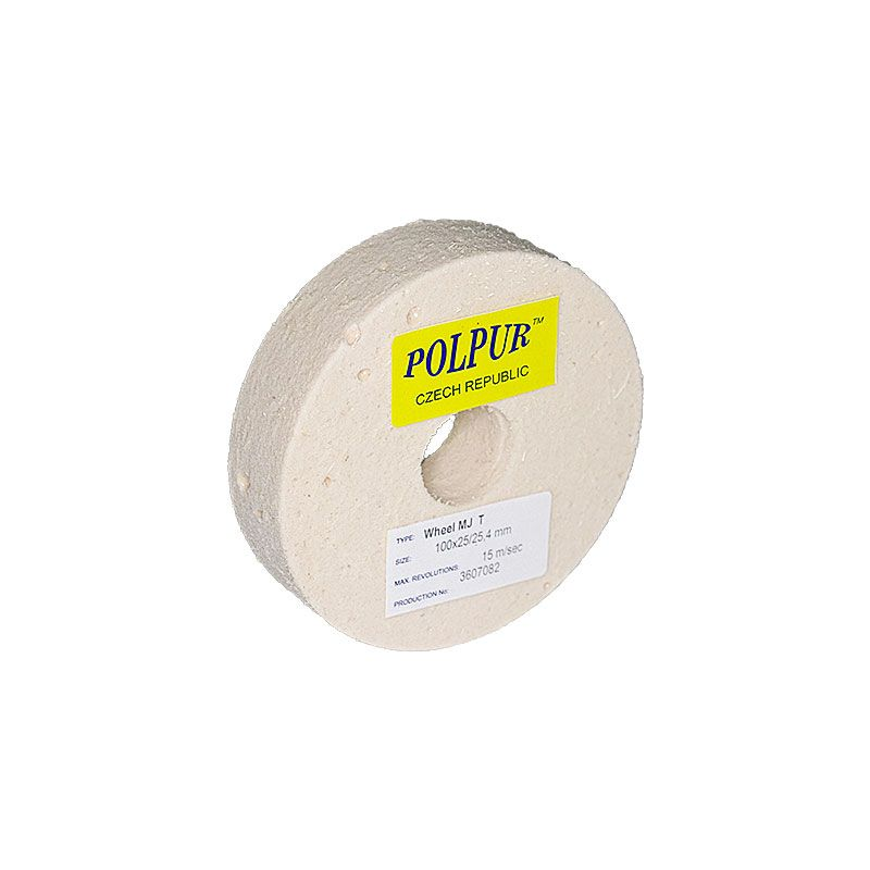 4 Inch Flat Edged Polpur MJ Pumic Wheel