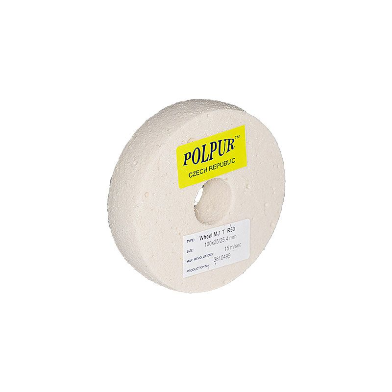 4 Inch Radiused Polpur MJ Pumice Wheel
