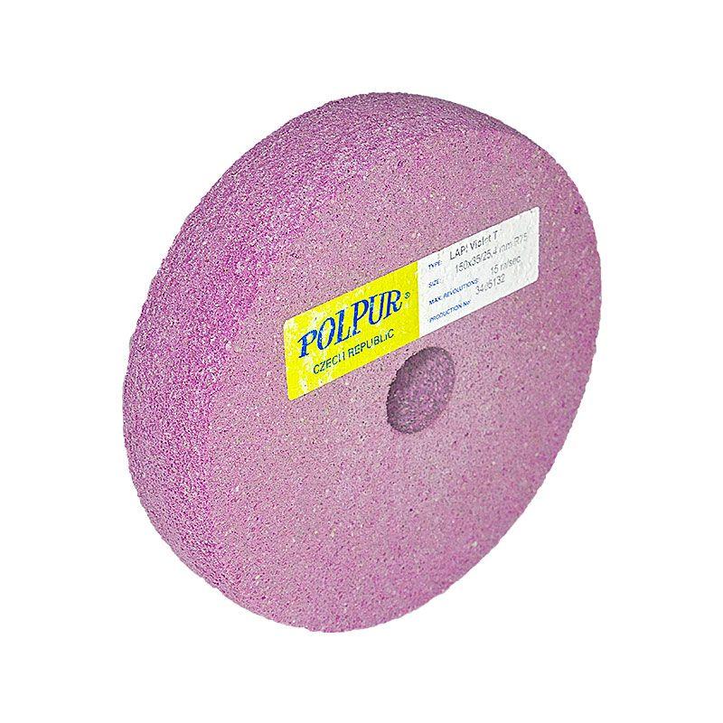 6 Inch Radiused Polpur Lapi-T Violet Wheel