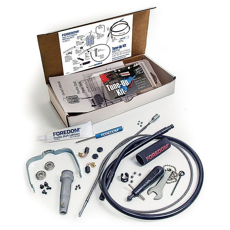 Tune-up Kit for Foredom TX motor Flex Shafts