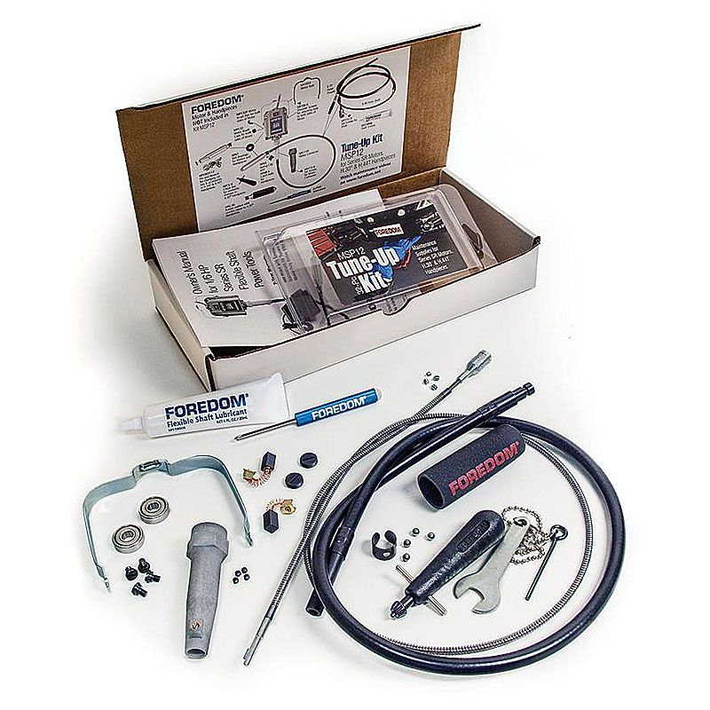 Tune-up Kit for Foredom SR motor Flex Shafts