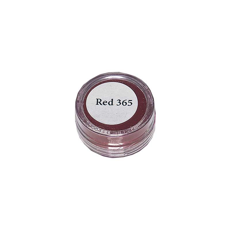 Orasol Dye Red 365, 1 gram container