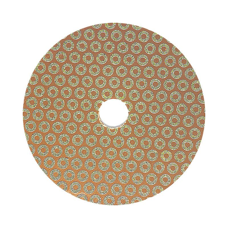 4 Inch Velcro Backed 50 Grit Baby Rok Diamond Disk