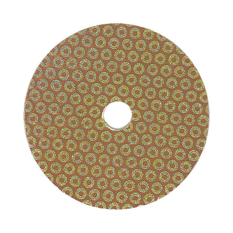 4 Inch Velcro Backed 30 Grit Baby Rok Diamond Disk