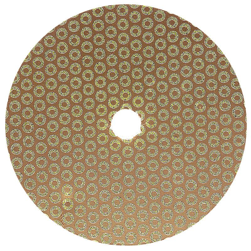 5 Inch Velcro Backed 30 Grit Baby Rok Diamond Disk