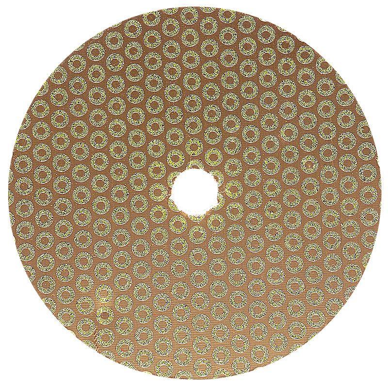 5 Inch Velcro Backed 30 Grit Baby Rok Diamond Disk