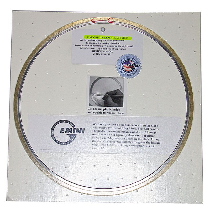 Revolution XT Single Sided Ring Blade for Glass