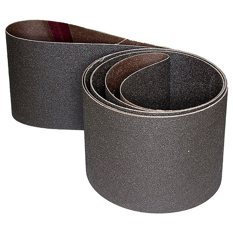 4 Inch x 106 Inch 100 Grit Silicon Carbide Belt Pack of 5