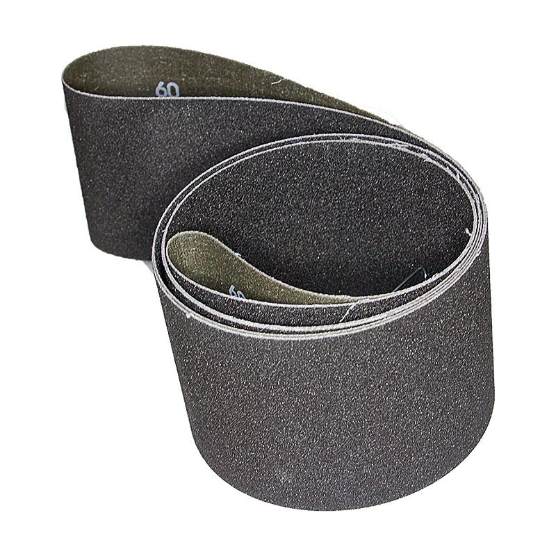 4 Inch x 106 Inch 60 Grit Silicon Carbide Belt Pack of 5