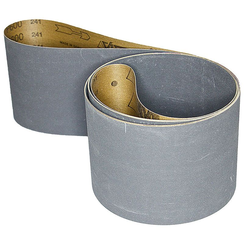 4 Inch x 106 Inch 600 Grit Silicon Carbide Belt