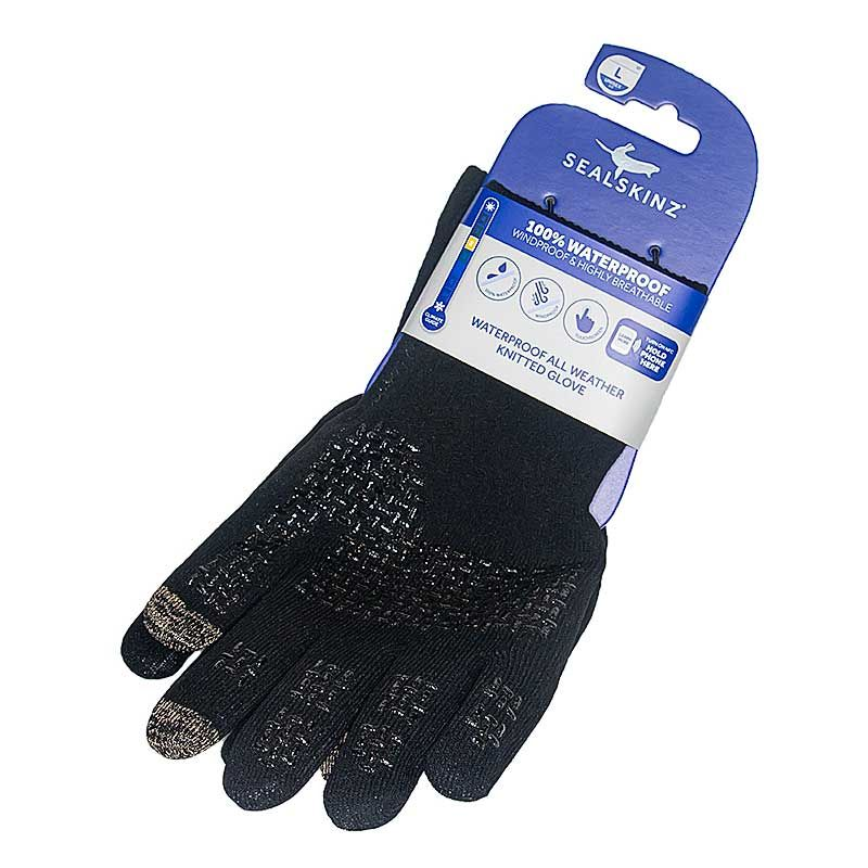 SealSkinz Large Waterproof Gloves