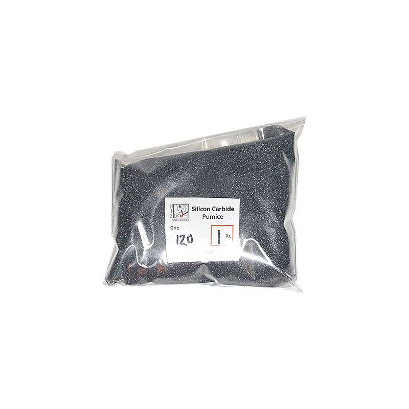 1 Pound 120 Grit Graded Silicon Carbide