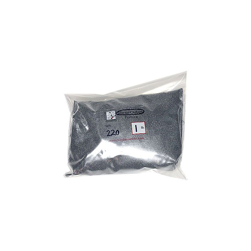 1 Pound 220 Grit Graded Silicon Carbide