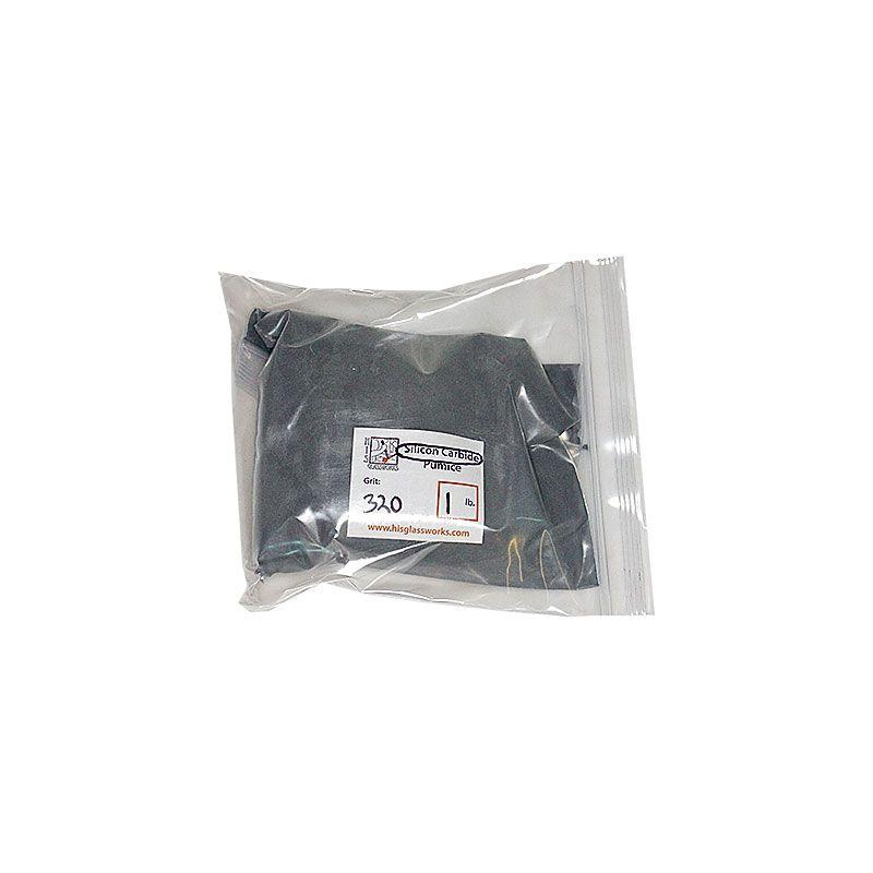 1 Pound 320 Grit Graded Silicon Carbide