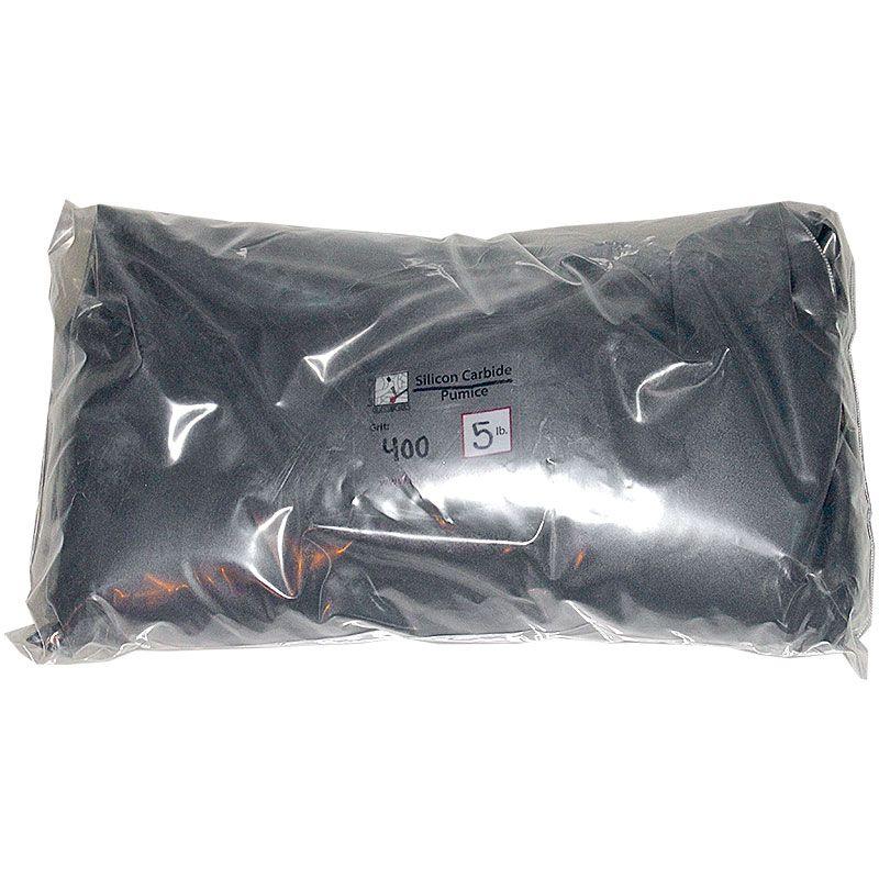 5 Pounds 400 Grit Graded Silcon Carbide